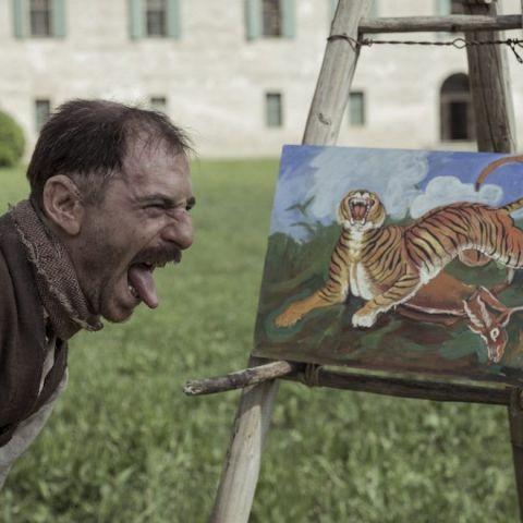Il ruggito animalesco di Toni Ligabue