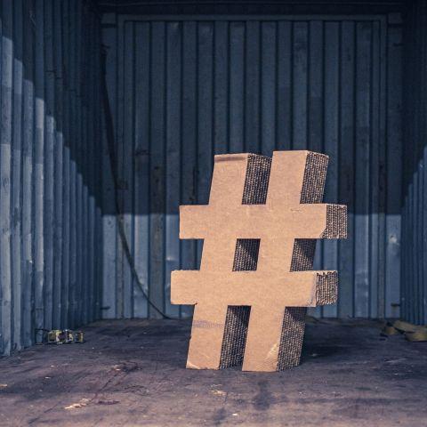 La banalità dell'hashtag